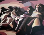 Obras de arte: Europa : España : Madrid : Pozuelo : Inmigrantes