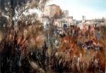 Obras de arte: Europa : España : Catalunya_Barcelona : gelida : Vista de Rajadell