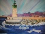 Obras de arte: Europa : España : Murcia : cartagena : faro de san pedr