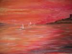 Obras de arte: Europa : España : Murcia : cartagena : marina en rojo