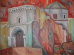Obras de arte: Europa : España : Murcia : cartagena : Catedral en llamas