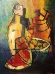 Obras de arte: America : Uruguay : Artigas : Artigas_ciudad : Dijo café y trajo vino