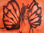 Obras de arte: America : Argentina : Buenos_Aires : La_Plata : Atenea (Serie caballos alados)