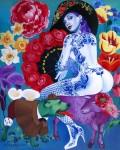 Obras de arte: Europa : Rusia : Leningrad : Saint-Petersburg : Porno-glam