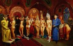 Obras de arte: Europa : Rusia : Leningrad : Saint-Petersburg : Ivan Groznyj chooses to itself the bride