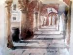Obras de arte: Europa : España : Extremadura_Badajoz : Oliva_de_la_Frontera : Plaza Chica. Zafra
