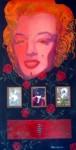Obras de arte: America : Colombia : Santander_colombia : PIEDECUESTA : MARILYN SERIE CLONARTE