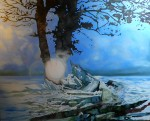 Obras de arte: Europa : Suiza : Geneve : Geneve_Versoix : Glacial tree - Arbre glaciaire