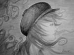 Obras de arte: Europa : España : Galicia_Pontevedra : Ribadumia : Chica con gorra