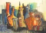 Obras de arte: America : Uruguay : Artigas : Artigas_ciudad : Bodegon inconcluso