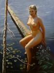 Obras de arte: Europa : Rusia : Leningrad : Saint-Petersburg : El autorretrato