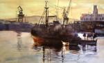 Obras de arte: Europa : España : Andalucía_Sevilla : Sevilla-ciudad : Puerto de Ceuta