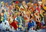 Obras de arte: Europa : Rusia : Leningrad : Saint-Petersburg : Mrs. Russia