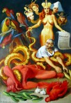 Obras de arte: Europa : Rusia : Leningrad : Saint-Petersburg : La tragedia de mercado 1998