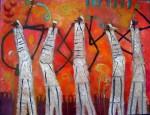 Obras de arte: America : México : Mexico_Distrito-Federal : Coyoacan : CINCOCHAMANES
