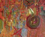 Obras de arte: America : Perú : Lima : chosica : ojo de dios