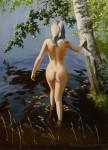 Obras de arte: Europa : Rusia : Leningrad : Saint-Petersburg : La bañadora