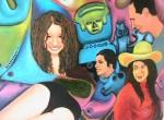 Obras de arte: Europa : España : Valencia : Burjassot : cosmovision indígena (detalle 2)