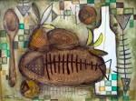 Obras de arte: America : Cuba : Ciudad_de_La_Habana : San_Miguel_del_Padrón : La Mesa está servida I
