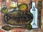 Obras de arte: America : Cuba : Ciudad_de_La_Habana : San_Miguel_del_Padrón : La mesa está servida III