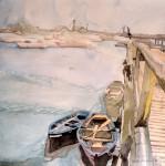 Obras de arte: America : Chile : Tarapaca : Arica : Botes Caleta Riquelma