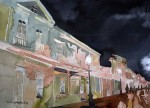 Obras de arte: America : Chile : Tarapaca : Arica : Baquedano Night