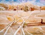 Obras de arte: America : Chile : Tarapaca : Arica : Estación salitrera