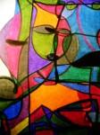 Obras de arte: America : Argentina : Rio__Negro : Bariloche : EL EXTRAÑO MUNDO DEL NO SER (DETALLE)