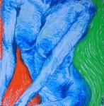 Obras de arte: America : Perú : Lima : San_Borja : Desnuda en colores