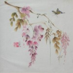 Obras de arte: America : México : Baja_California : tijuana : Wisteria en rosa