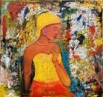 Obras de arte: America : Costa_Rica : San_Jose : CURRIDABAT : afrocaribeña 12