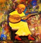 Obras de arte: America : Costa_Rica : San_Jose : CURRIDABAT : la serenata