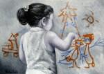 Obras de arte: Europa : España : Catalunya_Girona : olot : Bon Nadal