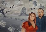 Obras de arte: America : México : Chihuahua : juarez : pájaros