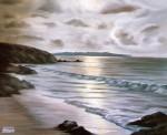 Obras de arte: Europa : España : Andalucía_Cádiz : Jerez_de_la_Frontera : Amanecer en las playas del sur