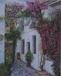 Obras de arte: Europa : España : Andalucía_Almería : Almeria_ciudad : Callejon de las flores