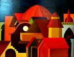 Obras de arte: Europa : España : Catalunya_Barcelona : Castelldefels : PUEBLO