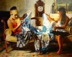 Obras de arte: America : Argentina : Buenos_Aires : Ciudad_de_Buenos_Aires : El Manton Celeste y Blanco