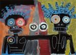 Obras de arte: Europa : España : Euskadi_Bizkaia : Dima : Basquiat nunca lo hizo