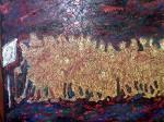Obras de arte: Europa : España : Galicia_Pontevedra : vigo : cola para genocidioII