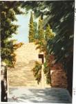 Obras de arte: Europa : España : Catalunya_Barcelona : Barcelona : Camino del cementerio
