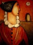 Obras de arte: Europa : España : Catalunya_Barcelona : BCN : figura de perfil