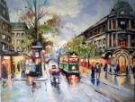 Obras de arte: America : Argentina : Buenos_Aires : Ciudad_de_Buenos_Aires : Boulevard des Capucines - Belle Epoque