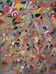 Obras de arte: Europa : España : Madrid : Madrid_ciudad : Personajes sobre fondo neutro