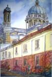 Obras de arte: America : Guatemala : Guatemala-region : Guatemala-ciudad : Callejon de las  Catacumbas