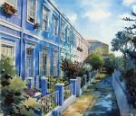 Obras de arte: America : Chile : Region_Metropolitana-Santiago : La_Reina : Pasaje Pierre Lotti