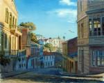 Obras de arte: America : Chile : Region_Metropolitana-Santiago : La_Reina : Bajando por Urriola
