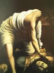 Obras de arte: America : México : Veracruz-Llave : POZA_RICA_ : DAVID CON LA CABEZA DE GOLIAT