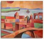Obras de arte: America : Argentina : Cordoba : Unquillo : paisaje