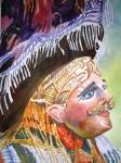Obras de arte: America : Guatemala : Guatemala-region : Guatemala-ciudad : Mascara Ceremonial